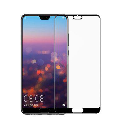 2PCS Tempered Glass Film for Huawei P20 Pro 9H Hardness Full Screen Protector nillkin 9h 0 3mm cp tempered glass full screen protector film for iphone 6 plus 5 5 white