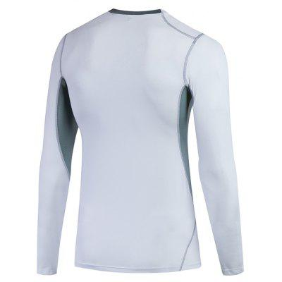 MenS Body Tights Basketball Compressed Run Quickly Dry Long Sleeves T-Shirtweight lifting clothes<br>MenS Body Tights Basketball Compressed Run Quickly Dry Long Sleeves T-Shirt<br><br>Features: Breathable, High elasticity, Quick Dry<br>Gender: Men<br>Material: Polyester, Spandex<br>Model Number: 1029<br>Package Content: 1 x Running T-Shirt<br>Package size: 1.00 x 1.00 x 1.00 cm / 0.39 x 0.39 x 0.39 inches<br>Package weight: 0.2000 kg<br>Product weight: 0.1870 kg<br>Size: S,M,L,XL,2XL<br>Type: Long Sleeves