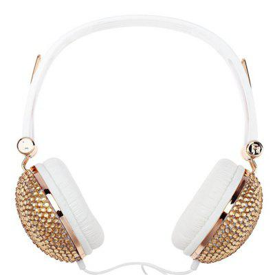 Mic Headphones Anti-noise Music Fashion Earphone with for DJ Mobile Phone PC