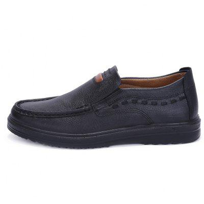 New Men Casual Fashion Loafers Outdoor Travel Breathable Comfort ShoesMen's Oxford<br>New Men Casual Fashion Loafers Outdoor Travel Breathable Comfort Shoes<br><br>Closure Type: Elastic band<br>Contents: 1 x Pair of Shoes<br>Function: Slip Resistant<br>Materials: Microfiber Leather<br>Occasion: Daily, Shopping, Office, Beach, Holiday, Dress, Party, Formal, Casual<br>Outsole Material: Rubber<br>Package Size ( L x W x H ): 35.00 x 25.00 x 15.00 cm / 13.78 x 9.84 x 5.91 inches<br>Package weight: 0.8000 kg<br>Pattern Type: Solid<br>Product weight: 0.7000 kg<br>Seasons: Spring,Summer,Winter,Autumn<br>Style: Comfortable, Leisure, Business, Fashion, Formal, Casual<br>Toe Shape: Square Toe<br>Type: Casual Leather Shoes<br>Upper Material: Microfiber,Microfiber Leather