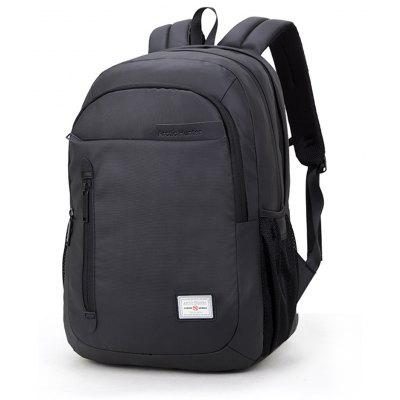 20006 Arctic Hunter Backpack Business Casual Laptop Bag -  BLACK