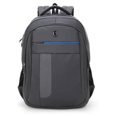 1500195 Anti Splashing Fashion Business Shoulder Bag Leisure Laptop Bag Backpack -  VERTICAL  GRAY