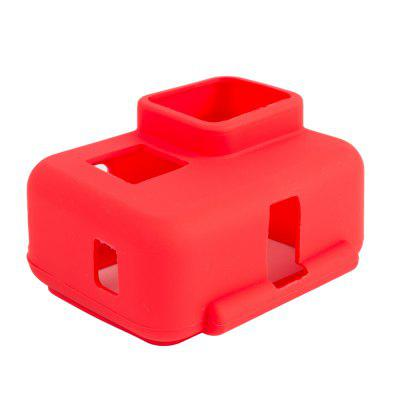 Colorful Soft Silicone Protective Case for GoPro Hero 6 / 5 Black Sports Cam -  RED