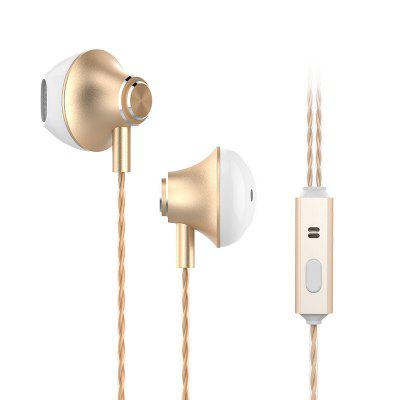 New Fashion Personality Metal In-ear Headphones