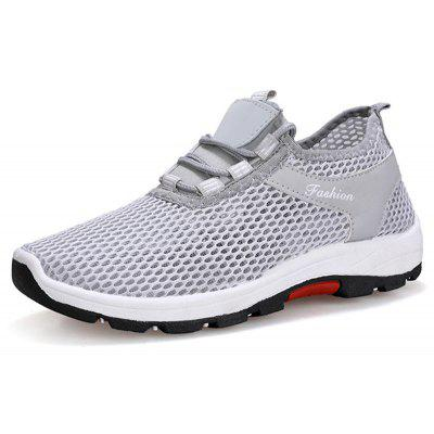 Customer Reviews for Men Fashion Mesh Sneakers Breathable Athletic Outdoor  Casual Running Shoes | GearBest.com