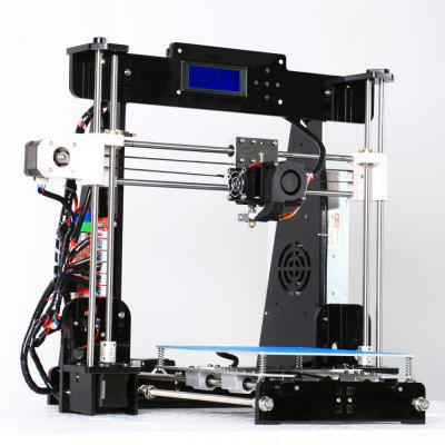 CTC A8 3D Printer DIY Upgradest High Precision Reprap i3 MK8 Extruder3D Printers, 3D Printer Kits<br>CTC A8 3D Printer DIY Upgradest High Precision Reprap i3 MK8 Extruder<br><br>Connector Type: SD card, USB<br>File format: STL<br>Host computer software: ReplicatorG<br>Language: English,Chinese<br>Memory card offline print: SD card<br>Nozzle quantity: Single<br>Package size: 52.00 x 35.00 x 22.00 cm / 20.47 x 13.78 x 8.66 inches<br>Package weight: 9.5000 kg<br>Packing Contents: 1 x DIY 3D printer , 1 x Plug<br>Platform board: Aluminum Base<br>Product size: 51.00 x 40.00 x 41.50 cm / 20.08 x 15.75 x 16.34 inches<br>Product weight: 8.5000 kg<br>Supporting material: PLA, ABS<br>Type: DIY<br>Voltage: 110-240V