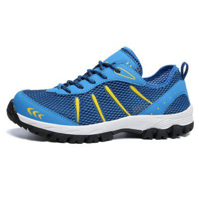 ZEACAVA Large Size Sports Casual Outdoor Mesh ShoesMen's Sneakers<br>ZEACAVA Large Size Sports Casual Outdoor Mesh Shoes<br><br>Closure Type: Lace-Up<br>Contents: 1 x Pair of Shoes<br>Decoration: Hollow Out<br>Function: Slip Resistant<br>Materials: Cloth<br>Occasion: Casual, Sports, Outdoor Clothing<br>Outsole Material: Rubber<br>Package Size ( L x W x H ): 30.00 x 20.00 x 10.00 cm / 11.81 x 7.87 x 3.94 inches<br>Package weight: 0.4200 kg<br>Pattern Type: Solid<br>Product weight: 0.3800 kg<br>Seasons: Spring,Summer,Autumn<br>Style: Comfortable, Fashion, Casual<br>Toe Shape: Round Toe<br>Type: Hiking Shoes<br>Upper Material: Cloth