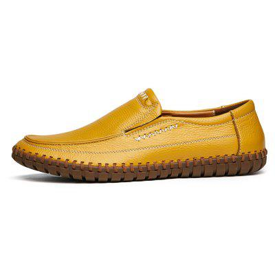 ZEACAVA Mens Fashion Leather ShoesMen's Oxford<br>ZEACAVA Mens Fashion Leather Shoes<br><br>Closure Type: Slip-On<br>Contents: 1 x Pair of Shoes<br>Function: Slip Resistant<br>Materials: Leather<br>Occasion: Daily, Dress, Party, Formal, Casual, Office<br>Outsole Material: Rubber<br>Package Size ( L x W x H ): 30.00 x 20.00 x 10.00 cm / 11.81 x 7.87 x 3.94 inches<br>Package weight: 0.4500 kg<br>Pattern Type: Solid<br>Product weight: 0.4000 kg<br>Seasons: Spring,Summer,Winter,Autumn<br>Style: Comfortable, Leisure, Business, Fashion, Formal<br>Toe Shape: Round Toe<br>Type: Casual Leather Shoes<br>Upper Material: Leather
