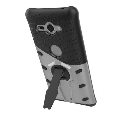 Case for Sony Xpreia XZ2 Compact Shockproof with Stand 360 Rotation ContrasCases &amp; Leather<br>Case for Sony Xpreia XZ2 Compact Shockproof with Stand 360 Rotation Contras<br><br>Compatible Model: for Sony Xpreia XZ2 Compact<br>Features: Back Cover, Cases with Stand, Anti-knock<br>Mainly Compatible with: Sony<br>Material: PC, TPU<br>Package Contents: 1 x Phone Case<br>Package size (L x W x H): 14.50 x 8.00 x 1.50 cm / 5.71 x 3.15 x 0.59 inches<br>Package weight: 0.0400 kg<br>Product Size(L x W x H): 14.20 x 7.70 x 1.20 cm / 5.59 x 3.03 x 0.47 inches<br>Product weight: 0.0370 kg<br>Style: Mixed Color