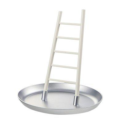 Creative Home Desktop Ornaments Small Ladder Modeling Jewelry RackHooks &amp; Racks<br>Creative Home Desktop Ornaments Small Ladder Modeling Jewelry Rack<br><br>Functions: Home, Bedroom<br>Materials: ABS, PS<br>Package Contents: 1 x Jewelry  Rack<br>Package Size(L x W x H): 15.00 x 12.00 x 1.00 cm / 5.91 x 4.72 x 0.39 inches<br>Package weight: 0.3000 kg<br>Product Size(L x W x H): 15.00 x 13.00 x 16.00 cm / 5.91 x 5.12 x 6.3 inches<br>Product weight: 0.3000 kg<br>Types: Storage Holders and Racks