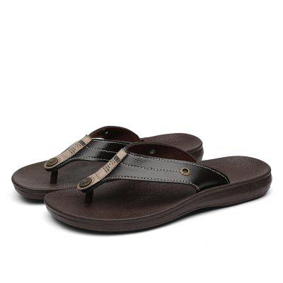 High Quality PU Leather Summer Men Casual Outdoor Beach Flip FlopsMens Slippers<br>High Quality PU Leather Summer Men Casual Outdoor Beach Flip Flops<br><br>Available Size: 39 40 41 42 43 44 45<br>Embellishment: Criss-Cross<br>Gender: For Men<br>Outsole Material: Rubber<br>Package Contents: 1xShoes(pair)<br>Pattern Type: Striped<br>Season: Summer<br>Slipper Type: Outdoor<br>Style: Leisure<br>Upper Material: PU<br>Weight: 0.4000kg