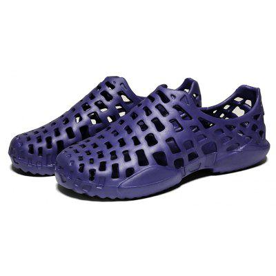Men Summer Color Hollow Skid Beach ShoesMens Sandals<br>Men Summer Color Hollow Skid Beach Shoes<br><br>Available Size: 40 41 42 43 44 45<br>Closure Type: Slip-On<br>Embellishment: Hollow Out<br>Gender: For Men<br>Heel Hight: 2<br>Occasion: Casual<br>Outsole Material: PVC<br>Package Contents: 1xShoes(pari)<br>Pattern Type: Solid<br>Sandals Style: Ankle-Wrap<br>Style: Novelty<br>Upper Material: PVC<br>Weight: 0.3500kg