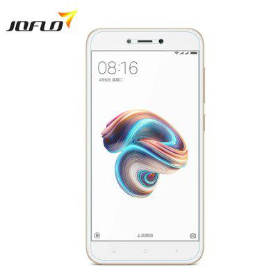 JOFLO Tempered Glass Screen Protector for Xiaomi Redmi 5AScreen Protectors<br>JOFLO Tempered Glass Screen Protector for Xiaomi Redmi 5A<br><br>Compatible Model: Xiaomi Redmi 5A<br>Features: Anti-oil, Anti scratch, Anti fingerprint, High-definition, High sensitivity, Ultra thin, Waterproof, High Transparency, Protect Screen<br>Mainly Compatible with: Xiaomi<br>Material: Tempered Glass<br>Package Contents: 1 x Screen Protector, 1 x Wipe, 1 x Dust Sticker, 1 x Wet Wip<br>Package size (L x W x H): 16.50 x 7.50 x 0.50 cm / 6.5 x 2.95 x 0.2 inches<br>Package weight: 0.0260 kg<br>Product Size(L x W x H): 13.50 x 6.60 x 0.01 cm / 5.31 x 2.6 x 0 inches<br>Product weight: 0.0100 kg<br>Thickness: 0.26mm<br>Type: Screen Protector