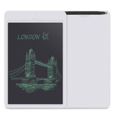 10 Inch Portable Smart LCD Writing Tablet Electronic Notepad Drawing Board- WHITE