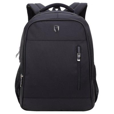 B180018 Leisure Backpack Fashion Shoulder Bag 18 Inch Business Computer Bag -  VERTICAL  BLACK