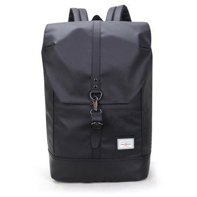 TM0001 North Hunter Backpack Business and Leisure Bag -  VERTICAL  BLACK