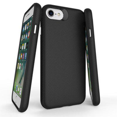 Case for iPhone 8 / 7 Shockproof Armor Back CoveriPhone Cases/Covers<br>Case for iPhone 8 / 7 Shockproof Armor Back Cover<br><br>Features: Back Cover, Anti-knock<br>Material: TPU, PC<br>Package Contents: 1 x Phone Case<br>Package size (L x W x H): 15.50 x 8.30 x 1.30 cm / 6.1 x 3.27 x 0.51 inches<br>Package weight: 0.0420 kg<br>Product size (L x W x H): 14.90 x 7.80 x 1.10 cm / 5.87 x 3.07 x 0.43 inches<br>Product weight: 0.0400 kg<br>Style: Solid Color