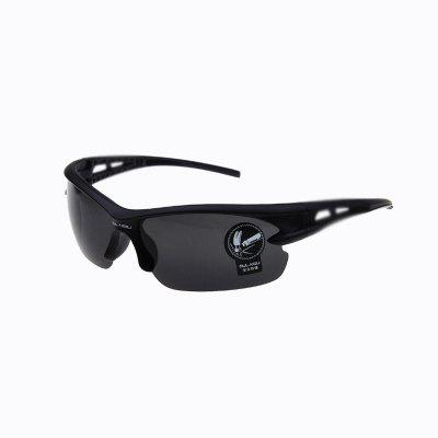 Outdoor Sports Riding Driving Bicycle Cycling Eyewear Goggles UV 400 Sunglasses -  BLACK