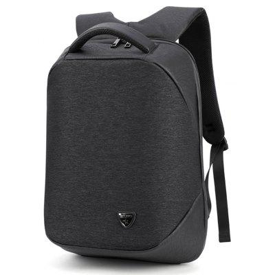 B00193 New Men'S Backpack Outdoor Travel Shoulder Bag USB Charging Multifunction -  VERTICAL  BLACK