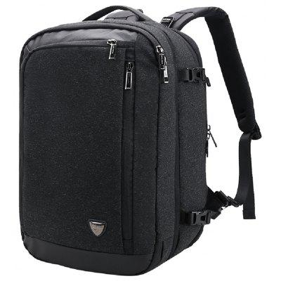 B00210 Men'S Business Large Capacity City Backpack Multi Function Shoulder Bag -  VERTICAL  BLACK