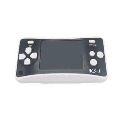 Portable Handheld Mini Video Console Children Gift 152 Classic GameHandheld Games<br>Portable Handheld Mini Video Console Children Gift 152 Classic Game<br><br>Battery Type: Removable<br>Compatible with: TV, Android TV, MIMU TV, MIMU TV Box, Android TV Box, Built-in Games<br>Language: English,Chinese<br>Model: RS-1<br>Package Contents: 1 x Box, 1 x Console, 1 x English Specification, 1 x 2 Meter AV Line<br>Package size: 14.10 x 10.20 x 3.05 cm / 5.55 x 4.02 x 1.2 inches<br>Package weight: 0.1200 kg<br>Power Supply: Requires 3 x AAA Batterie (Not Included)<br>Pre-positioned Games Number: 152<br>Product size: 11.00 x 6.00 x 2.00 cm / 4.33 x 2.36 x 0.79 inches<br>Product weight: 0.1000 kg<br>Screen size: 2.5 inch