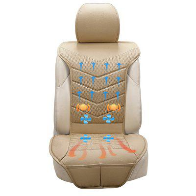 Cover Blowing Refrigeration Cooling Heating Massage 3 in 1 Car Seat Cushion