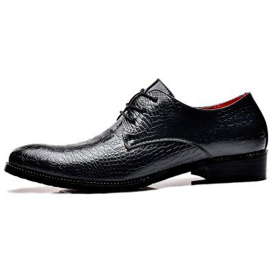 Mens Crocodile Fabric Business Leather ShoesFormal Shoes<br>Mens Crocodile Fabric Business Leather Shoes<br><br>Available Size: 38.39.40.41.42.43<br>Closure Type: Lace-Up<br>Embellishment: None<br>Gender: For Men<br>Occasion: Casual<br>Outsole Material: Rubber<br>Package Contents: 1?shoes (pair)<br>Pattern Type: Crocodile Print<br>Season: Summer, Winter, Spring/Fall<br>Toe Shape: Pointed Toe<br>Toe Style: Closed Toe<br>Upper Material: PU<br>Weight: 1.2000kg