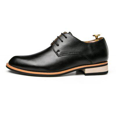 Mens Leather Business Casual ShoesFormal Shoes<br>Mens Leather Business Casual Shoes<br><br>Available Size: 38.39.40.41.42.43.44<br>Closure Type: Lace-Up<br>Embellishment: None<br>Gender: For Men<br>Occasion: Office &amp; Career<br>Outsole Material: Rubber<br>Package Contents: 1?shoes(pair)<br>Pattern Type: Others<br>Season: Summer, Winter, Spring/Fall<br>Toe Shape: Pointed Toe<br>Toe Style: Closed Toe<br>Upper Material: Full Grain Leather<br>Weight: 1.2000kg