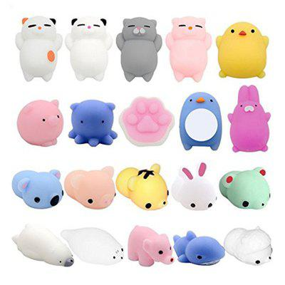 Jumbo Squishy Creative Animals Model Stress Reliever Anxiety Toys for Kids 20PCS 265510301