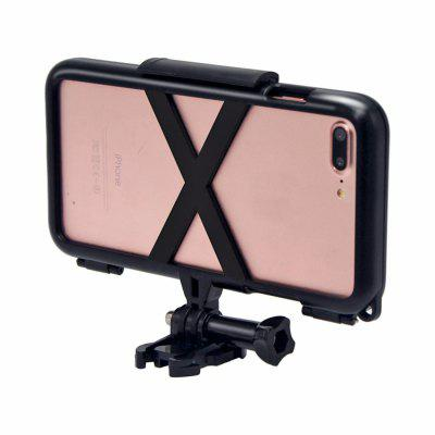 HAMTOD for iPhone 7 Plus 5.5 Inch Sports Protective Cover Case HolderiPhone Cases/Covers<br>HAMTOD for iPhone 7 Plus 5.5 Inch Sports Protective Cover Case Holder<br><br>Features: Bicycle Holder<br>Mainly Compatible with: iPhone 7 Plus<br>Material: PC<br>Package Contents: 1 x Phone Holder<br>Package size (L x W x H): 18.00 x 15.00 x 3.00 cm / 7.09 x 5.91 x 1.18 inches<br>Package weight: 0.2400 kg<br>Product size (L x W x H): 16.00 x 10.00 x 2.00 cm / 6.3 x 3.94 x 0.79 inches<br>Product weight: 0.1200 kg<br>Type: Mobile Holder