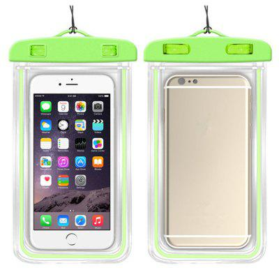 Sport Waterproof Soft Clear PVC Phone Pouch Bags Case  for Xiaomi / SamsungCases &amp; Leather<br>Sport Waterproof Soft Clear PVC Phone Pouch Bags Case  for Xiaomi / Samsung<br><br>Material: PVC<br>Package Contents: 1 x Phone Bag , 1 x Rope<br>Package size (L x W x H): 16.50 x 10.50 x 0.80 cm / 6.5 x 4.13 x 0.31 inches<br>Package weight: 0.0350 kg<br>Product size (L x W x H): 16.00 x 10.00 x 0.50 cm / 6.3 x 3.94 x 0.2 inches<br>Product weight: 0.0300 kg<br>Style: Glow in the Dark, Solid Color, Transparent