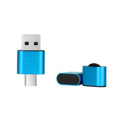 Mini OTG Type-C To USB 2.0 with Card Reade Adapter for Android PhoneChargers &amp; Cables<br>Mini OTG Type-C To USB 2.0 with Card Reade Adapter for Android Phone<br><br>Material: ABS<br>Package Contents: 1 x Adapters<br>Package size (L x W x H): 5.50 x 1.00 x 8.00 cm / 2.17 x 0.39 x 3.15 inches<br>Package weight: 0.0100 kg<br>Product size (L x W x H): 1.80 x 0.80 x 4.20 cm / 0.71 x 0.31 x 1.65 inches<br>Product weight: 0.0080 kg