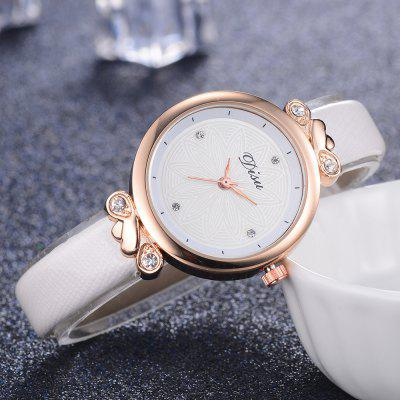 Disu DS065 Women Fashion Case PU Band Quartz Wrist WatchWomens Watches<br>Disu DS065 Women Fashion Case PU Band Quartz Wrist Watch<br><br>Band material: PU Leather<br>Band size: 21.5 x 1 CM<br>Case material: Alloy<br>Clasp type: Pin buckle<br>Dial size: 3.2 x 3.2 x 0.7 CM<br>Display type: Analog<br>Movement type: Quartz watch<br>Package Contents: 1 x Watch<br>Package size (L x W x H): 23.00 x 4.00 x 1.00 cm / 9.06 x 1.57 x 0.39 inches<br>Package weight: 0.0250 kg<br>Product size (L x W x H): 21.50 x 3.20 x 0.70 cm / 8.46 x 1.26 x 0.28 inches<br>Product weight: 0.0230 kg<br>Shape of the dial: Round<br>Watch mirror: Mineral glass<br>Watch style: Jewellery, Childlike, Classic, Fashion, Casual<br>Watches categories: Women,Female table<br>Water resistance: No