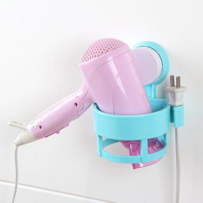 Bathroom Powerful Sucker Seamless Hair Dryer RackHooks &amp; Racks<br>Bathroom Powerful Sucker Seamless Hair Dryer Rack<br><br>Functions: Bathroom, Bedroom<br>Materials: ABS<br>Package Contents: 1 x Blower Rack<br>Package Size(L x W x H): 13.00 x 13.00 x 15.00 cm / 5.12 x 5.12 x 5.91 inches<br>Package weight: 0.2000 kg<br>Product Size(L x W x H): 12.50 x 12.50 x 15.00 cm / 4.92 x 4.92 x 5.91 inches<br>Product weight: 0.1600 kg<br>Types: Storage Holders and Racks
