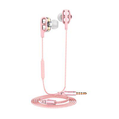 2018 New Double Moving coil Cool High quality Good Headphone
