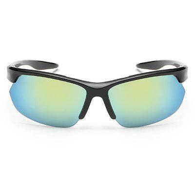 Sports Outdoor Riding Sunglasses for MenCycling Sunglasses<br>Sports Outdoor Riding Sunglasses for Men<br><br>Package Contents: 1 x Glasses<br>Package Size(L x W x H): 15.00 x 13.00 x 5.00 cm / 5.91 x 5.12 x 1.97 inches<br>Package weight: 0.0147 kg<br>Product Size(L x W x H): 14.00 x 12.60 x 4.00 cm / 5.51 x 4.96 x 1.57 inches<br>Product weight: 0.0147 kg<br>Type: Goggle