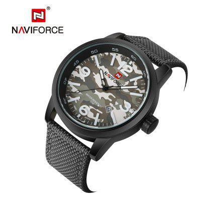NAVIFORCE Men Quartz Luxury Brand Fashion Casual Wrist WatchMens Watches<br>NAVIFORCE Men Quartz Luxury Brand Fashion Casual Wrist Watch<br><br>Band material: Nylon<br>Case material: Stainless Steel<br>Clasp type: Pin buckle<br>Movement type: Quartz watch<br>Package Contents: 1 x watch<br>Package size (L x W x H): 17.50 x 8.00 x 3.00 cm / 6.89 x 3.15 x 1.18 inches<br>Package weight: 0.2000 kg<br>Product size (L x W x H): 25.20 x 4.60 x 1.30 cm / 9.92 x 1.81 x 0.51 inches<br>Product weight: 0.2000 kg<br>Shape of the dial: Round<br>Watch style: Outdoor Sports, Military, Fashion, Casual<br>Watches categories: Men