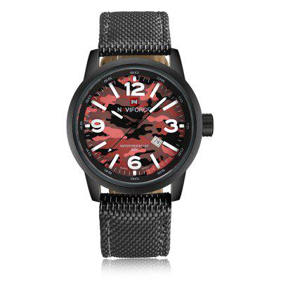NAVIFORCE Men Quartz Luxury Brand Fashion Casual Wrist Watch