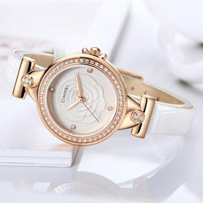 Comtex S6400L LadyS Fashion Simple White Leather Quartz WatchWomens Watches<br>Comtex S6400L LadyS Fashion Simple White Leather Quartz Watch<br><br>Available Color: White,Champagne Gold<br>Band material: Alloys<br>Band size: 21 X 1 cm<br>Case material: Alloy<br>Clasp type: Buckle<br>Dial size: 3.2 X 3.2 X 0.5 cm<br>Display type: Analog<br>Movement type: Quartz watch<br>Package Contents: 1 X Watch<br>Package size (L x W x H): 9.00 x 9.00 x 7.00 cm / 3.54 x 3.54 x 2.76 inches<br>Package weight: 0.1100 kg<br>Product size (L x W x H): 21.00 x 3.20 x 0.50 cm / 8.27 x 1.26 x 0.2 inches<br>Product weight: 0.1100 kg<br>Shape of the dial: Round<br>Special features: Rhinestone<br>Watch mirror: Mineral glass<br>Watch style: Casual, Fashion, Classic, Childlike, Jewellery<br>Watches categories: Women,Female table<br>Water resistance: 30 meters