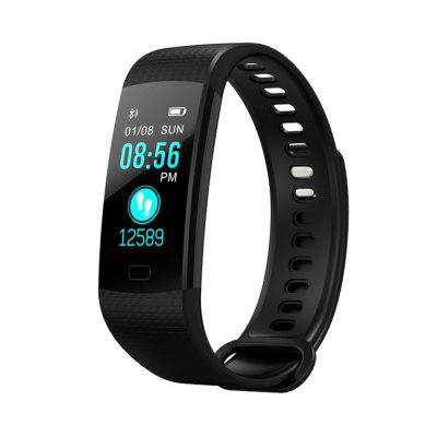 Color Screen Smart Bracelet Wristband Watch Heart Rate Monitor  Fitness TrackerSmart Watches<br>Color Screen Smart Bracelet Wristband Watch Heart Rate Monitor  Fitness Tracker<br><br>Band material: Rubber, Stainless Steel<br>Battery  Capacity: 90mAh<br>Bluetooth Version: Bluetooth 4.0<br>Case material: PC<br>Compatible OS: IOS, Android<br>IP rating: IP 67<br>Operating mode: Touch Key<br>Package Contents: 1 x  Bracelet, 1 x User Manual<br>Package size (L x W x H): 17.00 x 8.20 x 3.50 cm / 6.69 x 3.23 x 1.38 inches<br>Package weight: 0.1460 kg<br>People: Male table<br>Product size (L x W x H): 21.00 x 3.00 x 1.50 cm / 8.27 x 1.18 x 0.59 inches<br>Product weight: 0.0550 kg<br>Shape of the dial: Rectangle<br>Waterproof: Yes