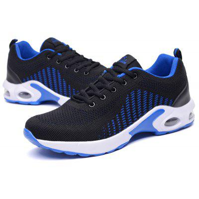 Men Breathable Mesh Surface Leisure Air Cushion Running ShoesMen's Sneakers<br>Men Breathable Mesh Surface Leisure Air Cushion Running Shoes<br><br>Available Size: 39 40 41 42 43 44<br>Closure Type: Lace-Up<br>Feature: Breathable<br>Gender: For Men<br>Outsole Material: Rubber<br>Package Contents: 1xShoes(1pair)<br>Package Size(L x W x H): 25.00 x 20.00 x 10.00 cm / 9.84 x 7.87 x 3.94 inches<br>Package weight: 0.5000 kg<br>Pattern Type: Solid<br>Product weight: 0.5000 kg<br>Season: Summer<br>Upper Material: Canvas