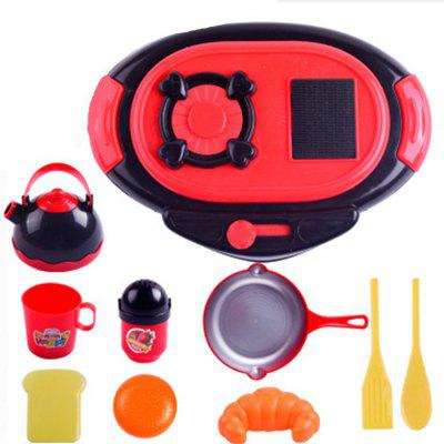 Kitchen Toy Cooking Food Dishes Cookware Pretend 265831901