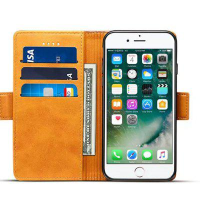 for iPhone 8 / 7 Splice Color Cowhide Texture Leather Flip Wallet Case CoveriPhone Cases/Covers<br>for iPhone 8 / 7 Splice Color Cowhide Texture Leather Flip Wallet Case Cover<br><br>Compatible for Apple: iPhone 7, iPhone 8<br>Features: Cases with Stand, With Credit Card Holder, FullBody Cases<br>Material: TPU, PU Leather<br>Package Contents: 1 x Phone Case<br>Package size (L x W x H): 20.00 x 12.00 x 4.00 cm / 7.87 x 4.72 x 1.57 inches<br>Package weight: 0.1000 kg<br>Product size (L x W x H): 16.00 x 8.00 x 2.00 cm / 6.3 x 3.15 x 0.79 inches<br>Product weight: 0.0500 kg<br>Style: Vintage
