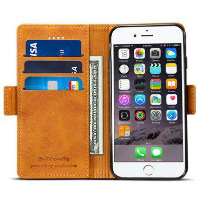 for iPhone 6 Plus / 6s Plus Splice Color Leather Flip Stand Case CoveriPhone Cases/Covers<br>for iPhone 6 Plus / 6s Plus Splice Color Leather Flip Stand Case Cover<br><br>Compatible for Apple: iPhone 6 Plus, iPhone 6S Plus<br>Features: Cases with Stand, With Credit Card Holder, FullBody Cases<br>Material: TPU, PU Leather<br>Package Contents: 1 x Phone Case<br>Package size (L x W x H): 20.00 x 12.00 x 4.00 cm / 7.87 x 4.72 x 1.57 inches<br>Package weight: 0.1000 kg<br>Product size (L x W x H): 16.00 x 8.00 x 2.00 cm / 6.3 x 3.15 x 0.79 inches<br>Product weight: 0.0500 kg<br>Style: Vintage