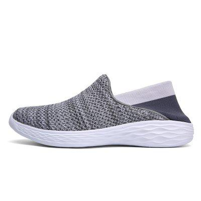 Men Outdoor Mesh Breathable ShoesFlats &amp; Loafers<br>Men Outdoor Mesh Breathable Shoes<br><br>Available Size: 35-45<br>Closure Type: Slip-On<br>Embellishment: None<br>Gender: For Men<br>Outsole Material: PU<br>Package Contents: 1xShoes(pair)<br>Pattern Type: Solid<br>Season: Summer, Spring/Fall<br>Toe Shape: Round Toe<br>Toe Style: Closed Toe<br>Upper Material: Microfiber<br>Weight: 1.2000kg