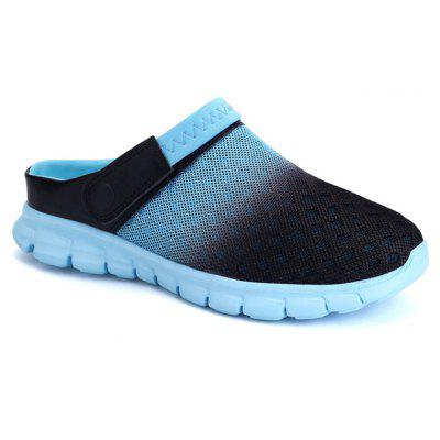 Summer Mesh Breathable Sandals Beach Flip Flops Causal ShoesMens Slippers<br>Summer Mesh Breathable Sandals Beach Flip Flops Causal Shoes<br><br>Available Size: 39-45<br>Closure Type: Slip-On<br>Embellishment: None<br>Gender: For Men<br>Occasion: Casual<br>Outsole Material: EVA<br>Package Contents: 1 x Shoes (pair)<br>Pattern Type: Others<br>Season: Summer<br>Toe Shape: Round Toe<br>Toe Style: Closed Toe<br>Upper Material: Cloth<br>Weight: 1.2400kg
