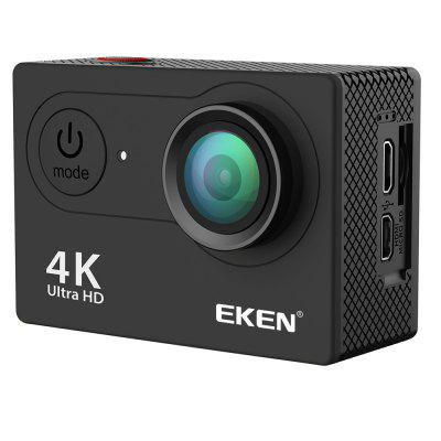 EKEN H9 Ultra HD 4K Sport Action Camera Underwater 170 Degree Lens BlackAction Cameras<br>EKEN H9 Ultra HD 4K Sport Action Camera Underwater 170 Degree Lens Black<br><br>Application: Motorcycle, Ski, Bike, Extreme Sports, Underwater, Aerial Photography<br>Battery Capacity (mAh): 1050mAh<br>Battery Type: Built-in<br>Charge way: AC adapter,USB charge by PC,Car charger<br>Charging Time: 1.5H<br>Function: WiFi, Waterproof, Remote Control<br>Night vision: No<br>Package Contents: 1 x EKEN H9R Sport Action Camera, 1 x Frame, 5 x Mount, 1 x Handle Bar, 2 x Helmet Mount, 1 x Protective Backdoor, 1 x Waterproof Case, 3 x Tether, 1 x Metal Tether, 1 x USB Cable, 1 x Charger<br>Package size (L x W x H): 7.00 x 5.00 x 17.00 cm / 2.76 x 1.97 x 6.69 inches<br>Package weight: 0.5000 kg<br>Product size (L x W x H): 7.00 x 5.00 x 17.00 cm / 2.76 x 1.97 x 6.69 inches<br>Product weight: 0.5000 kg<br>Remote Control: No<br>Screen: With Screen<br>Screen size: 2.0inch<br>Screen type: LCD<br>Standby time: 2H<br>Type: Sports Camera<br>Type of Camera: 4K<br>Video format: MOV<br>Video Resolution: 1080P,1080P (1920 x 1080),4K (4096 x 2160)<br>Water Resistant: 30M<br>Waterproof: Yes<br>WiFi Function: Remote Control<br>Working Time: 1.5H
