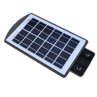 JIAWEN Outdoor Waterproof 20W Solar Radar Sensor Light Control LED Street LampOutdoor Lights<br>JIAWEN Outdoor Waterproof 20W Solar Radar Sensor Light Control LED Street Lamp<br><br>Brand: JIAWEN<br>Bulb Included: Yes<br>Color Temperature or Wavelength: 6000K<br>Connection Type: Wireless<br>Features: Waterproof, Human Body Sensor<br>Fixture Material: Plastic<br>IP rating: IP65<br>LED Color: White<br>LED Quantity: 20<br>Lens Color: Clear<br>Lifetime ( h ): More Than  30000<br>Light Direction: Downlight<br>Light Source Color: Cold White<br>Package Contents: 1 x Solar Street Light<br>Package size (L x W x H): 40.00 x 21.00 x 6.00 cm / 15.75 x 8.27 x 2.36 inches<br>Package weight: 1.2540 kg<br>Power Supply: Solar Powered<br>Primary Application: Outdoor Lighting<br>Product size (L x W x H): 39.00 x 20.00 x 5.00 cm / 15.35 x 7.87 x 1.97 inches<br>Product weight: 1.1340 kg<br>Production Mode: Self-produce<br>Shade Material: PVC<br>Switch Type: Sensor<br>Type: Street Lamp<br>Voltage: 6V<br>Wattage: 20W