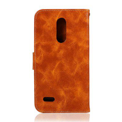 Fashion PU Flip Wallet Leather Cover For LG K10 2018 Phone CaseCases &amp; Leather<br>Fashion PU Flip Wallet Leather Cover For LG K10 2018 Phone Case<br><br>Compatible Model: LG K10 2018<br>Features: Dirt-resistant, Full Body Cases, Bumper Frame, Cases with Stand, With Credit Card Holder, Anti-knock<br>Mainly Compatible with: HUAWEI, LG<br>Material: PU Leather<br>Package Contents: 1 x Phone Case, 1 x Rope<br>Package size (L x W x H): 16.00 x 8.50 x 2.00 cm / 6.3 x 3.35 x 0.79 inches<br>Package weight: 0.0800 kg<br>Product Size(L x W x H): 15.50 x 8.00 x 1.50 cm / 6.1 x 3.15 x 0.59 inches<br>Product weight: 0.0700 kg<br>Style: Vintage, Vintage/Nostalgic Euramerican Style