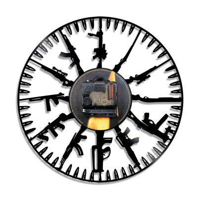 Vinyl Wall Clock Home Decal Modern StyleClocks<br>Vinyl Wall Clock Home Decal Modern Style<br><br>Battery Type: AA<br>Battery Voltage: 1.5V<br>Color: Black<br>Material: Plastic<br>Package Contents: 1 x Wall Clock<br>Package size (L x W x H): 34.00 x 33.00 x 5.00 cm / 13.39 x 12.99 x 1.97 inches<br>Package weight: 0.4000 kg<br>Product size (L x W x H): 29.00 x 29.00 x 3.00 cm / 11.42 x 11.42 x 1.18 inches<br>Product weight: 0.3500 kg<br>Shape: Others<br>Style: Retro<br>Theme: Others<br>Time Display: Analog<br>Type: Wall Clock